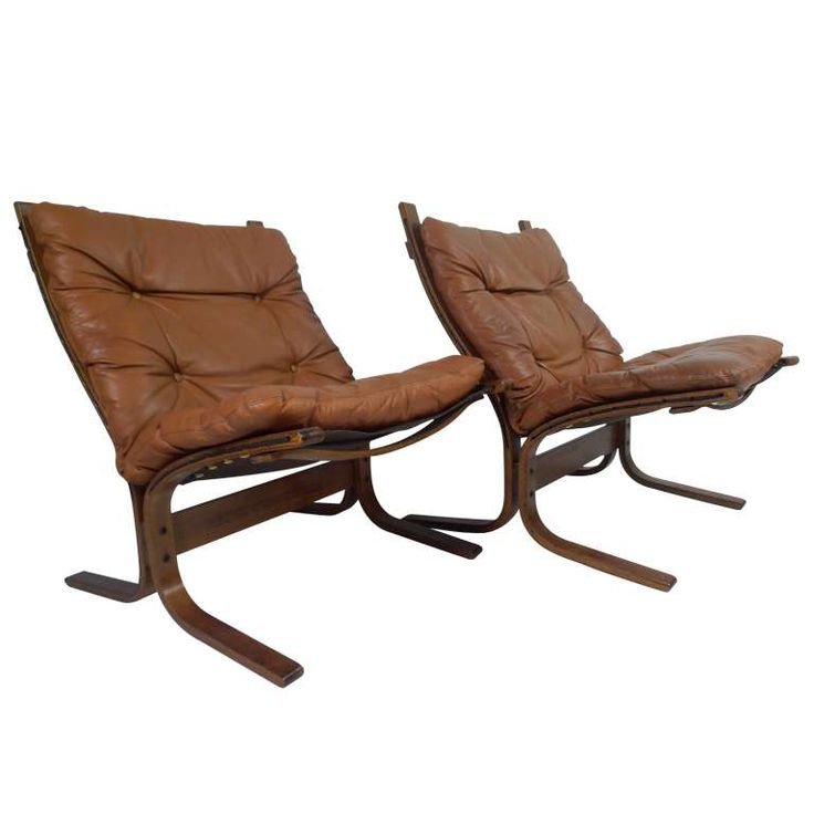 Ingmar Relling for Westnofa Siesta Leather Chairs 1