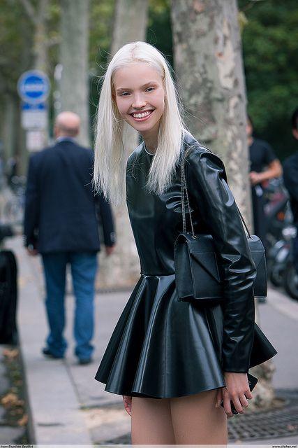 Paris Fashion Week, Street Style, Sasha Luss