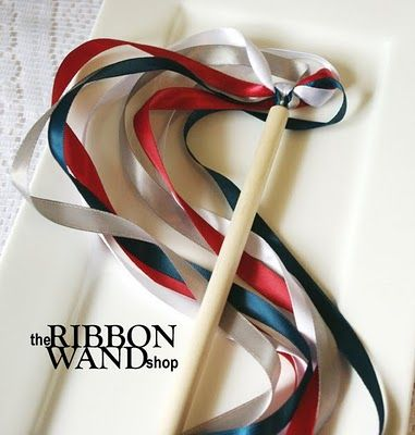 Ribbon Wands....I think my little one would love this.
