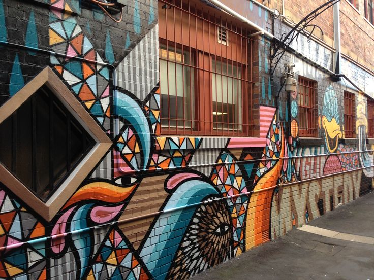 Incredible colours in the street art around Toowoomba #somuchtalent
