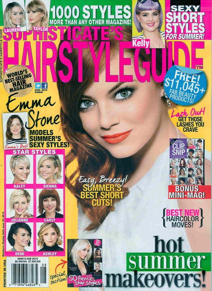 Sophisticate's Hair Style Guide August 2015
