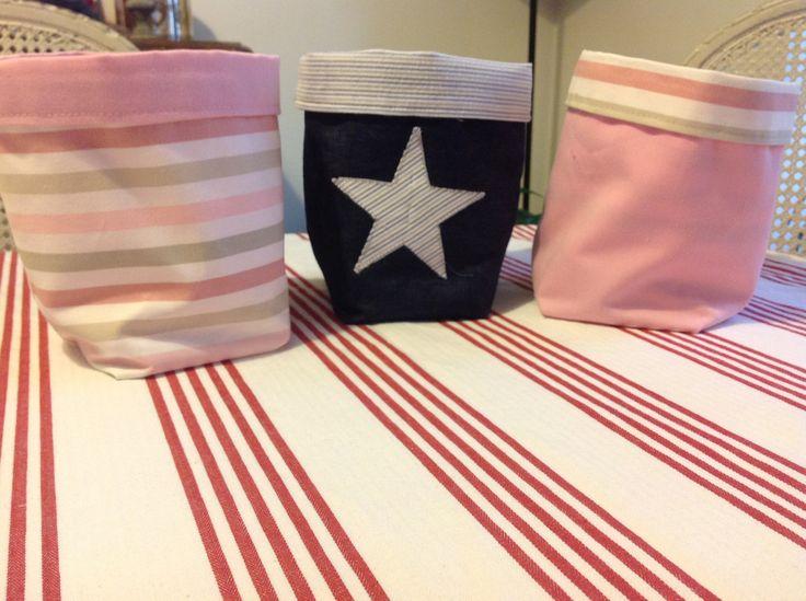 378 best images about paniers tissu vide poche tissu. Black Bedroom Furniture Sets. Home Design Ideas