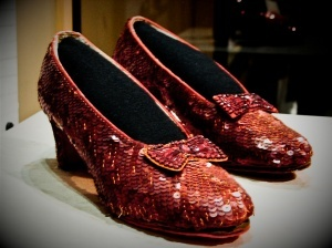 Smithsonian Museum of American History, Washington DC - so glad I've been able to see these shoes.  :-)