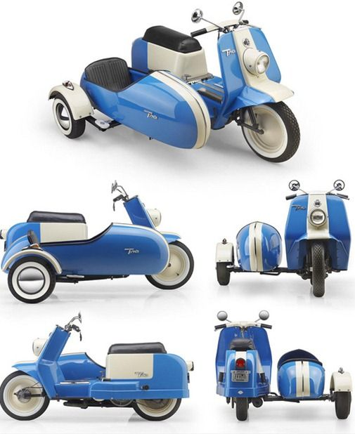 sidecar for harley topper motor scooter - Google Search