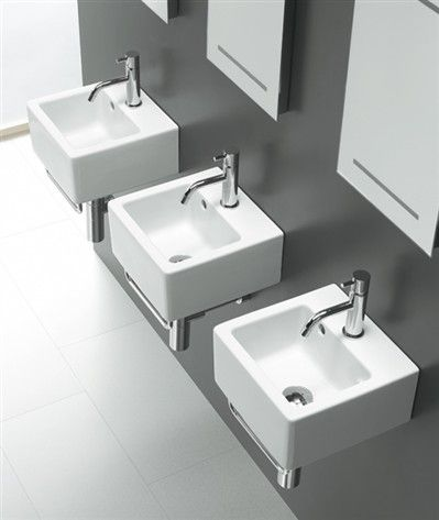 Washbasins : Washbasin AREA Ice 30x30