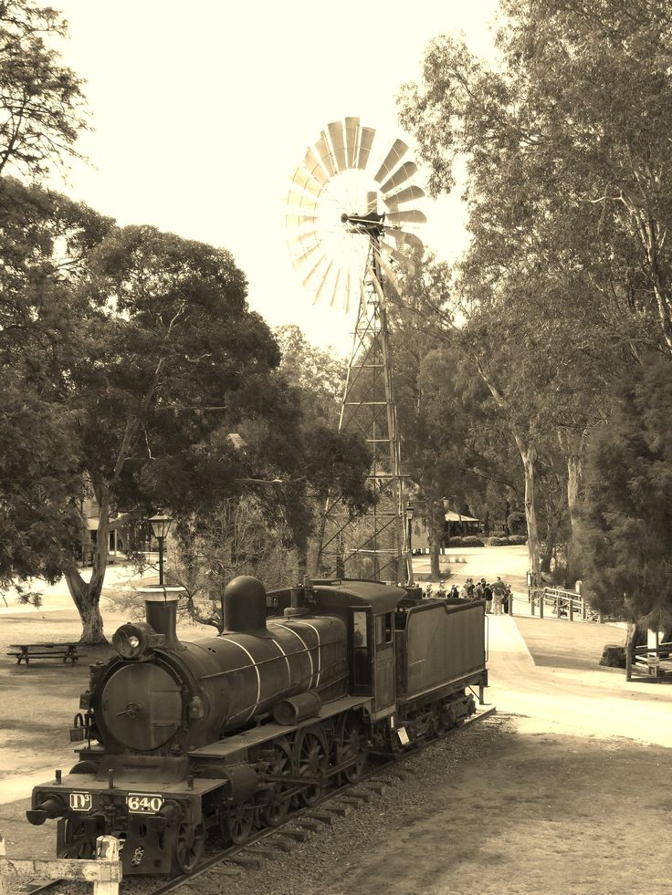 Pioneer Settlement, Swan Hill, Victoria taken from PS Gem