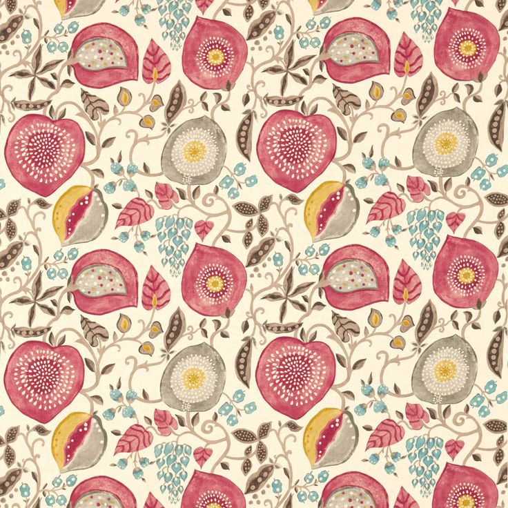 Sanderson - Traditional to contemporary, high quality designer fabrics and wallpapers | Products | British/UK Fabric and Wallpapers | Peas & Pods (DSOH225357) | Sojourn Prints & Embroideries