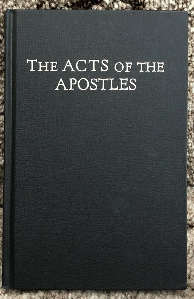 Details About The Acts Of The Apostles By Ellen G White Pacific