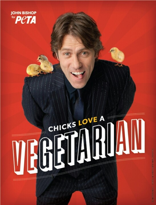 John Bishop. One of my favourite British comedians (absolutely hilarious EVERY gig...and cute to boot).