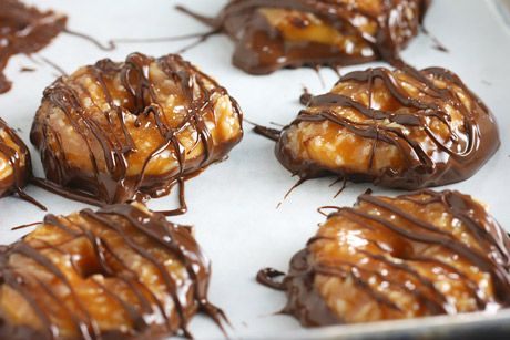homemade samoas.