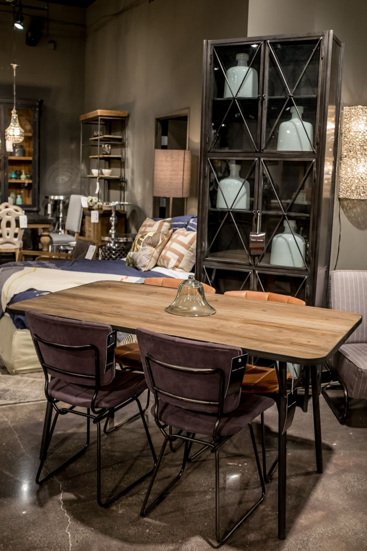 Four Hands Las Vegas Market Jan 2014 Dining Table Chairs