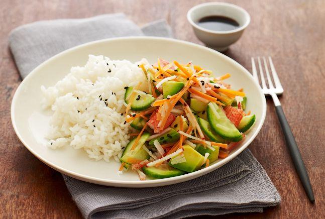 """California Roll"" Salad | Recipe | Joy of Kosher with Jamie Geller"