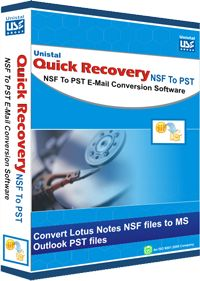 Buy NSF to PST Converter Tool which is excellent Software to Converter multiple NSF Files to PST files. Get this NSF to PST converter software online in India from Unistal.com