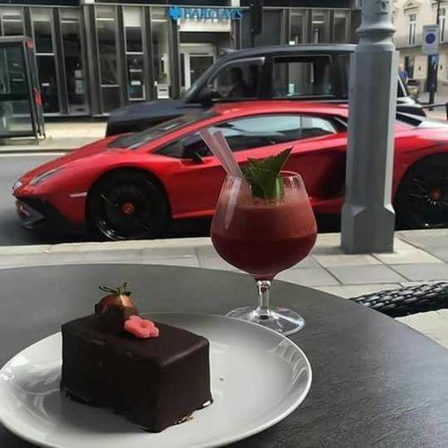 Imagen de car, cake, and Lamborghini