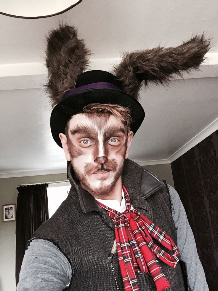March Hare inspired costume, charity night
