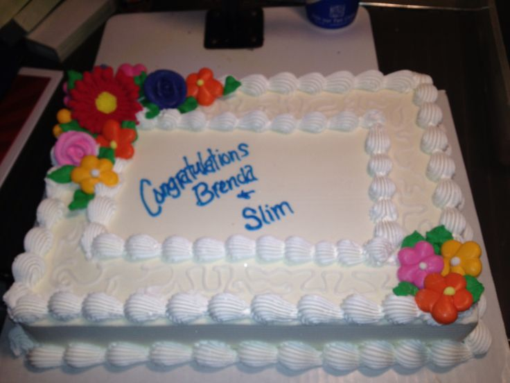 651 best images about buttercream sheetcakes on Pinterest ...