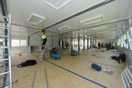 Edificio de modulares / prefabricado / de metal / moderno - COMPLEX - EUROmodul Ltd
