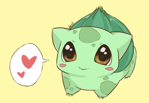 I want the baby bulbasaur!