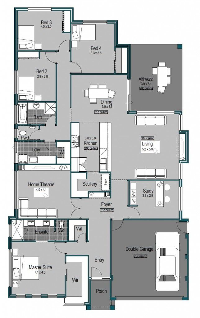 1107 best house plans images on pinterest adobe house blueprints home builders perth custom homes genesis master builders malvernweather Image collections