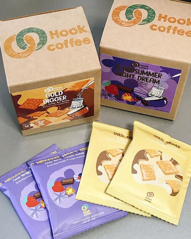 Happy Humpday Hook Coffee Sent Me Some Drip Coffee Bags To Try Gold Digger Toffee Nut Brittle 3 Region Blend Wi Toffee Nut Chocolate Roulade Coffee Hooks