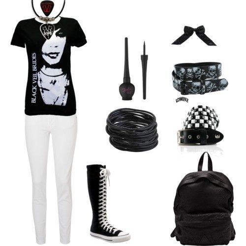 cutenfit.com cute emo outfits 4002 #cuteoutfits