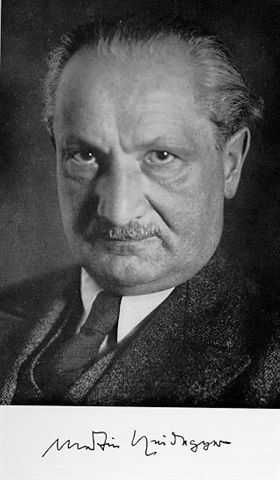 Martin Heidegger, German existential philosopher