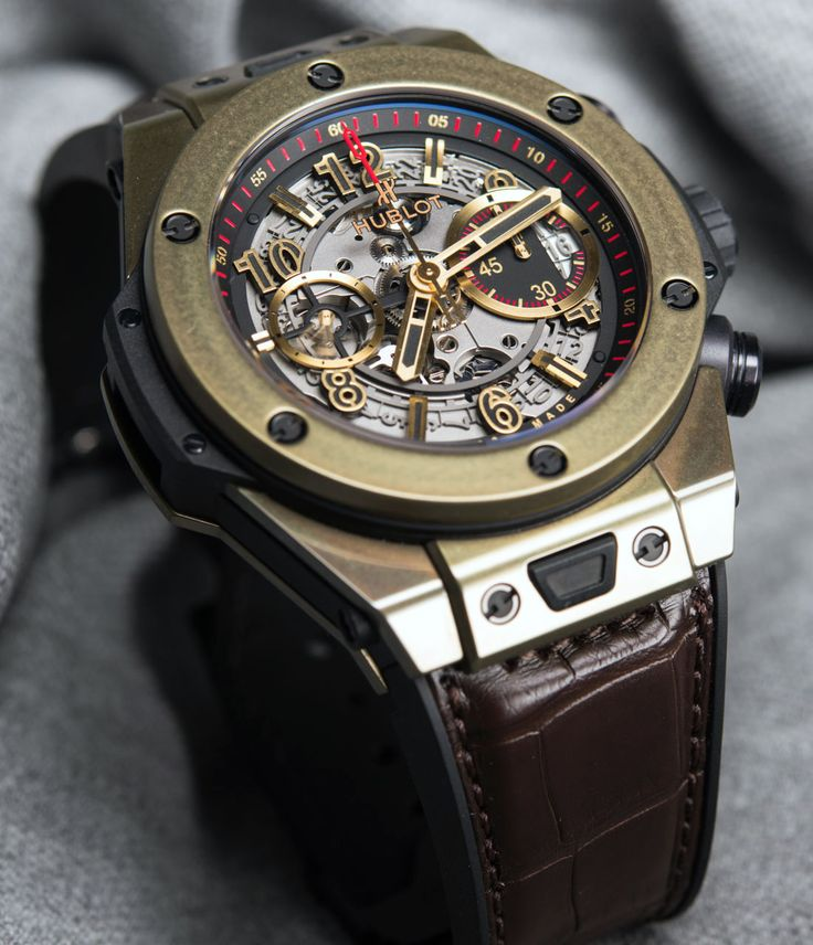 Hublot Big Bang Unico Magic Gold Watch