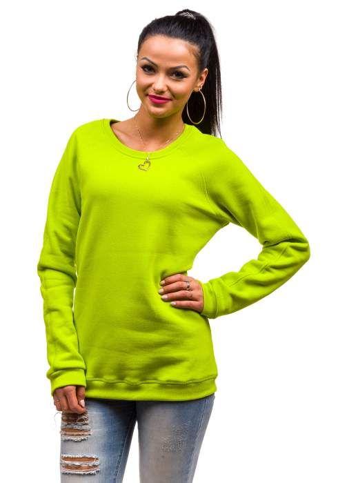 Limonkowa bluza damska BOLF 67S