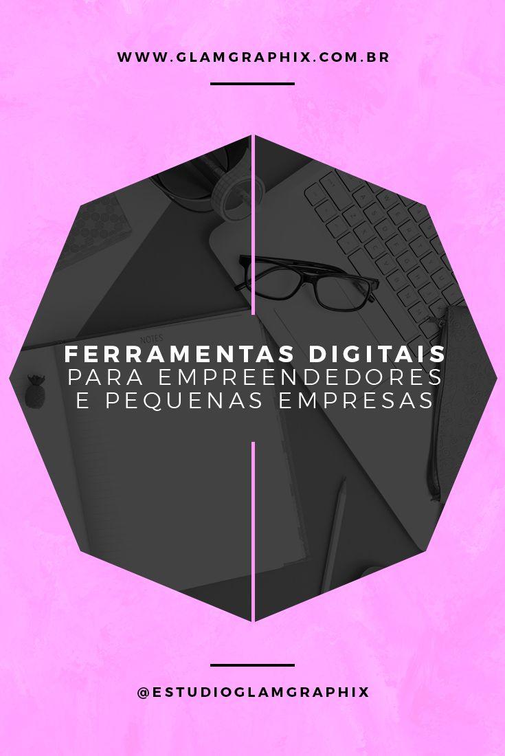 Ferramentas digitais para pequenas empresas    /empreendorismo, negocio criativo, economia criativa, aplicativos digitais, marketing digital