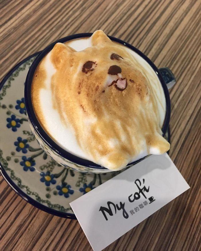 Coffee Artist Creates Impressive 3d Latte Art And It S Too Cute To Drink Latte Art Coffee Latte Art Coffee Art