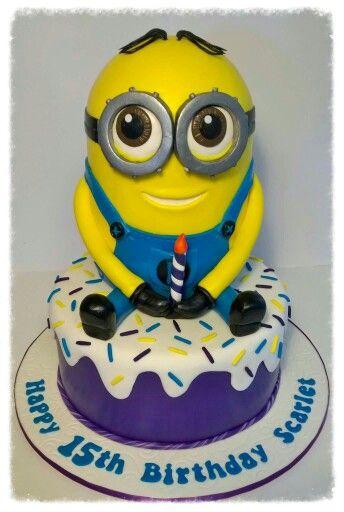 Minions cake.