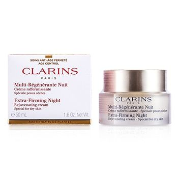 Anti-Aging: Clarins noční krém pro zpevění a rejuvenaci suché pleti
