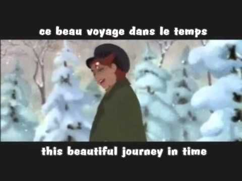 Journey to the Past (French) w/ subs and translation - YouTube