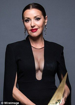 Tina Arena made quite an impression with her extreme cleavage at the ARIA awards