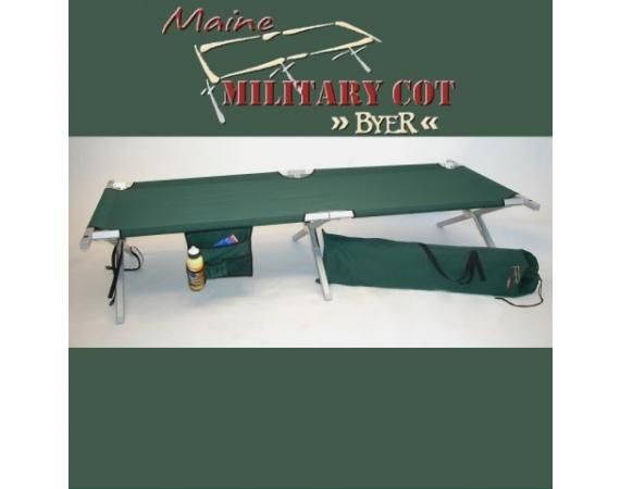 Byer Maine Military Cot | Vermont's Barre Army Navy Store