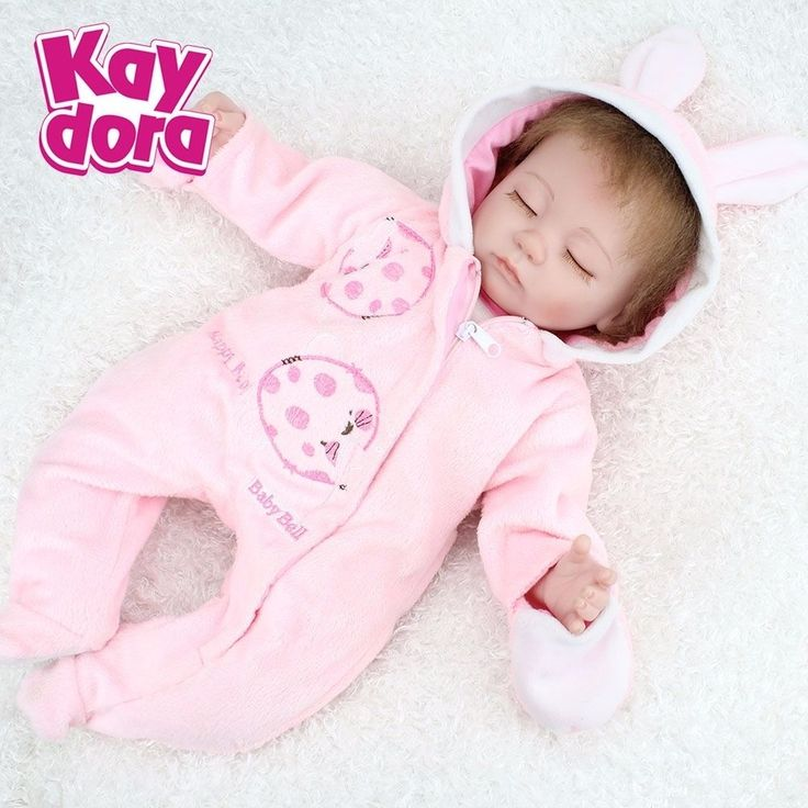 64.39$  Watch here - http://aic0r.worlditems.win/all/product.php?id=32714390066 - Handmade Real Looking Baby Doll Sleeping Reborn Baby Dolls Realistic Lifelike