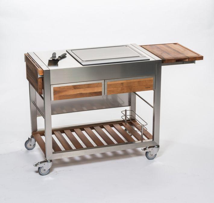 25+ parasta ideaa Pinterestissä Küche nussbaum Küche höffner - küchentisch aus arbeitsplatte