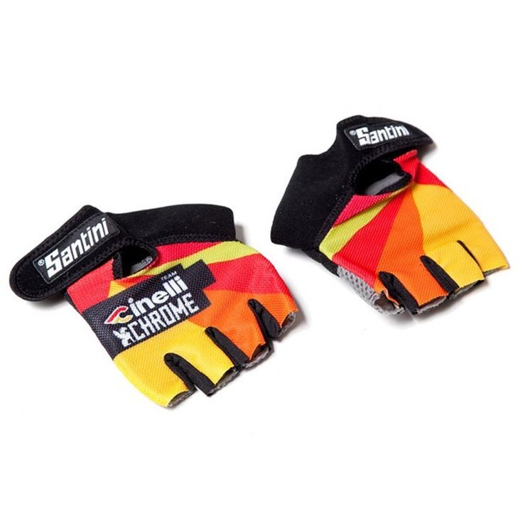 Santini Men's Cinelli Chrome Cycling Gloves ** You can find out more details at the link of the image.