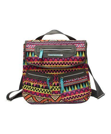 Tribu Tribal Mindy Backpack by Lily Bloom #zulily #zulilyfinds