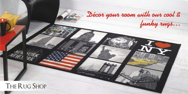 Decor your room with our cool and #funkyrugs. Buy today at: http://bit.ly/1kd194B