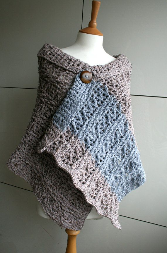 Crochet Pattern INSTANT DOWNLOAD crochet wrap by LuzPatterns