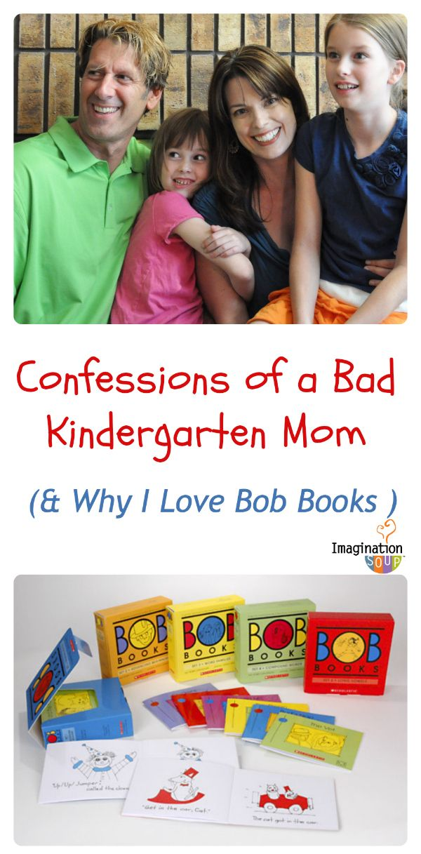 Confessions of a bad Kindergarten mom - and how Bob Books saved the day!