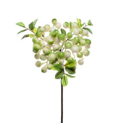 Berry Cluster Spray  (35cmST) White green