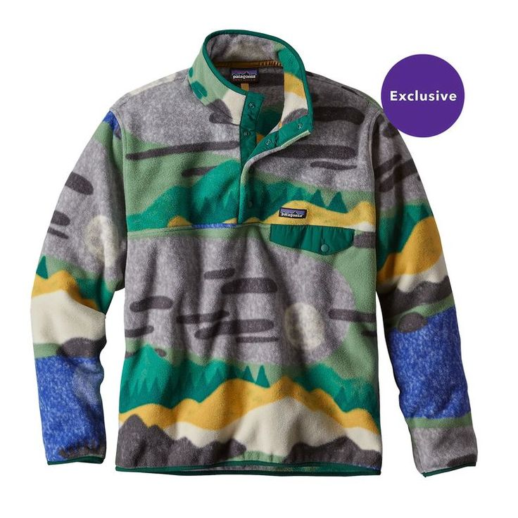 M's Lightweight Synchilla® Snap-T® Pullover, Hi Country: Legend Green (HCLG)