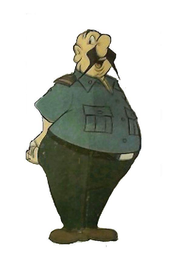 """El """"Coronel Cañones"""" tío de Isidoro. Es el guardián de las viejas tradiciones. http://www.desvandebuenosaires.net/humor-patoruzu/"""