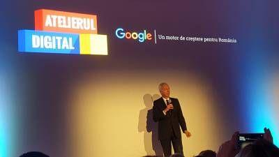Atelierul Digital de la Google lansat in Romania