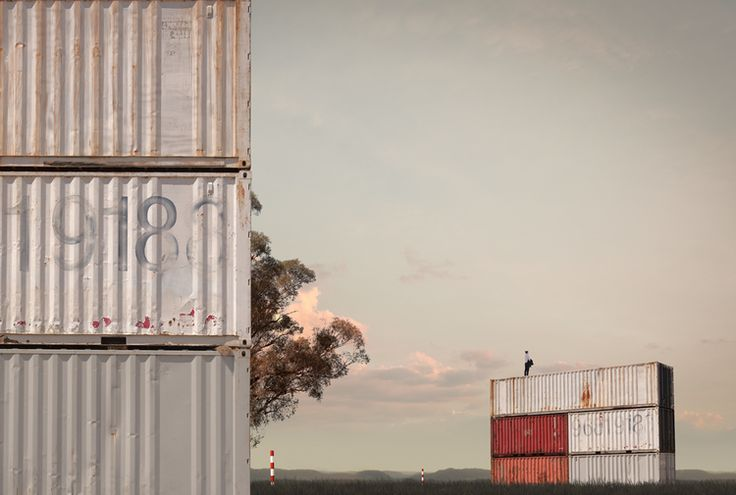 Lindsay Blamey - Container Field