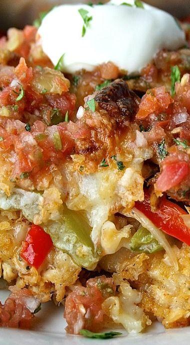 chicken spanish rice casserole recipe