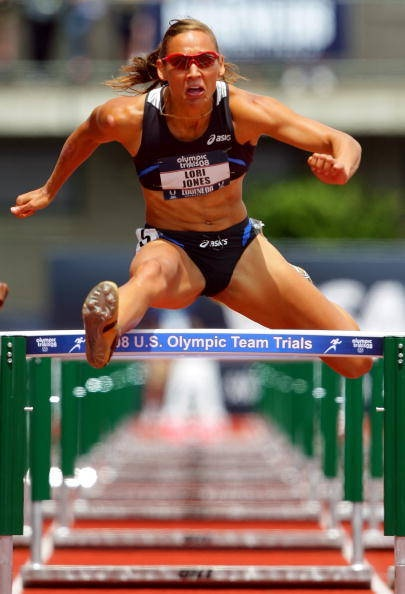 Lolo Jones Soooo glad she made the Olympic team after spinal surgery! She is amazing!