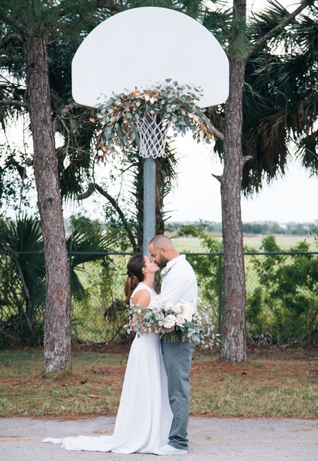 March Madness Wedding Inspiration   Green Wedding Shoes   Basketball wedding,  Sports wedding, Wedding gowns mermaid